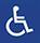 Accessible aux personnes à mobilité réduite.